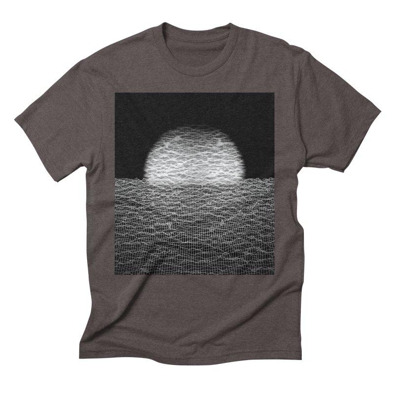 Cyber Ocean 2 -BG Black- Men's Triblend T-Shirt by LEMATWORKS Shop