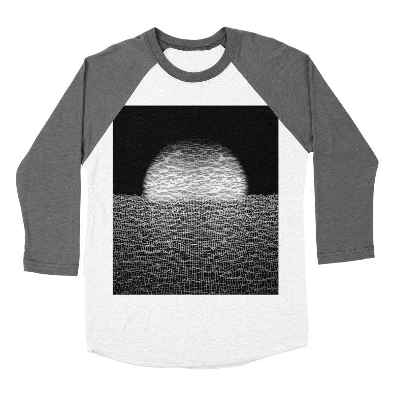 Cyber Ocean 2 -BG Black- Women's Baseball Triblend Longsleeve T-Shirt by LEMATWORKS Shop