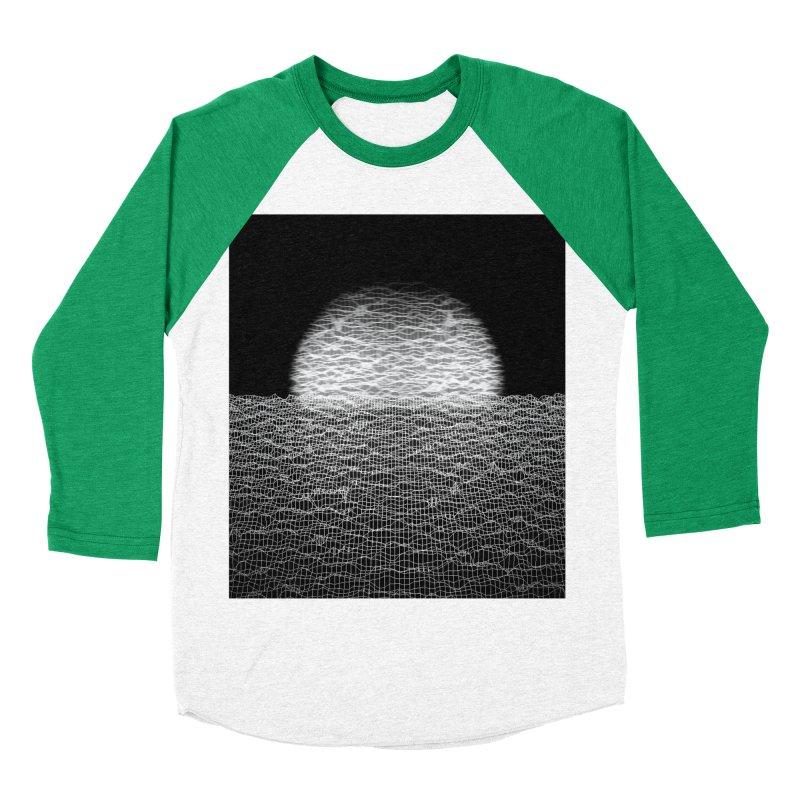 Cyber Ocean 2 -BG Black- Men's Baseball Triblend T-Shirt by LEMATWORKS Shop