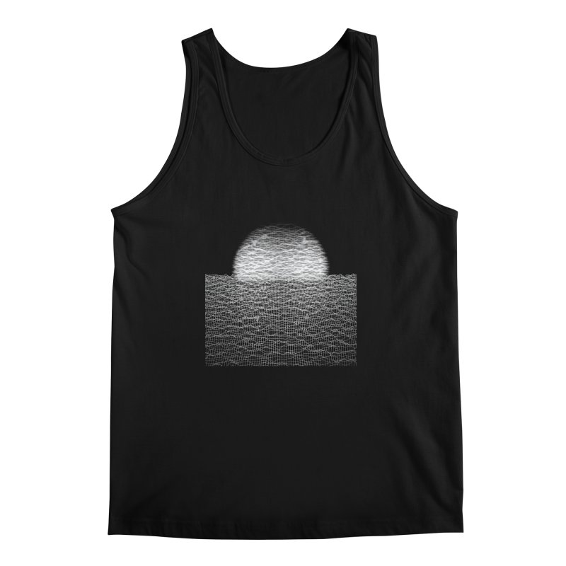 Cyber Ocean 2 -BG Black- Men's Tank by LEMATWORKS Shop