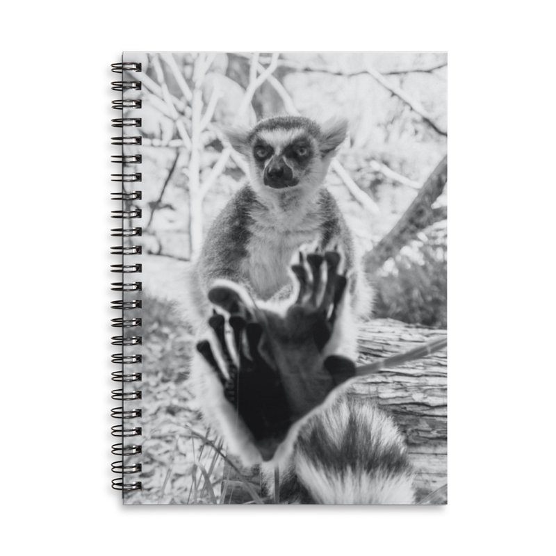 Lemur. Cool. Spiral Notebook. Accessories Notebook by Lemur. Cool.
