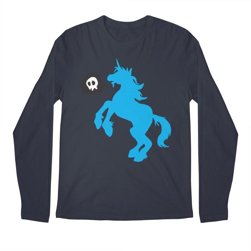 Bad Unicorn Men's Longsleeve T-Shirt by lemurzink's Artist Shop