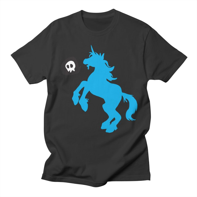 Bad Unicorn Men's T-Shirt by lemurzink's Artist Shop