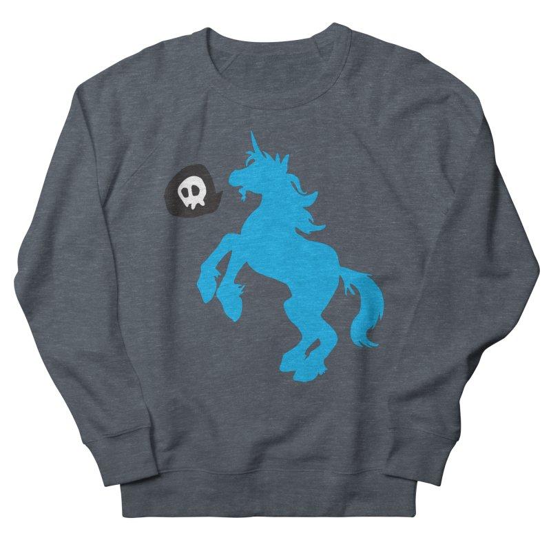 Bad Unicorn Women's Sweatshirt by lemurzink's Artist Shop
