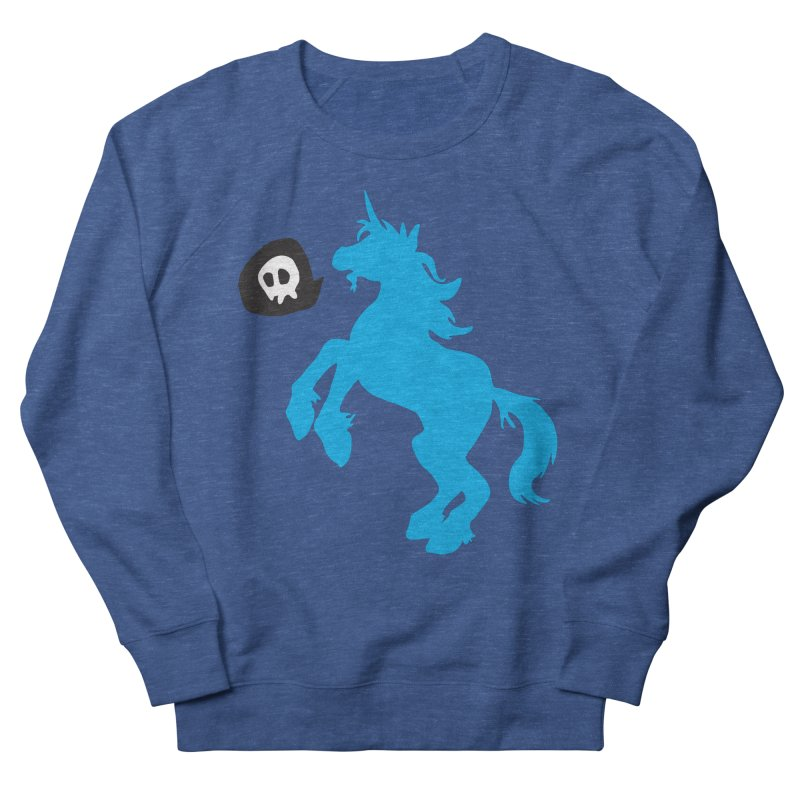 Bad Unicorn Men's Sweatshirt by lemurzink's Artist Shop