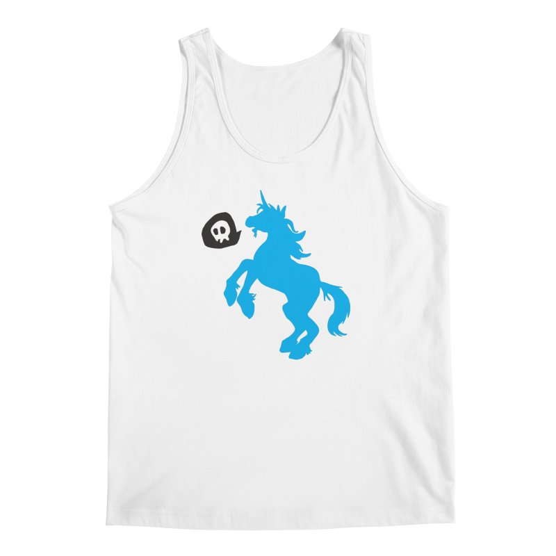 Bad Unicorn Men's Tank by lemurzink's Artist Shop