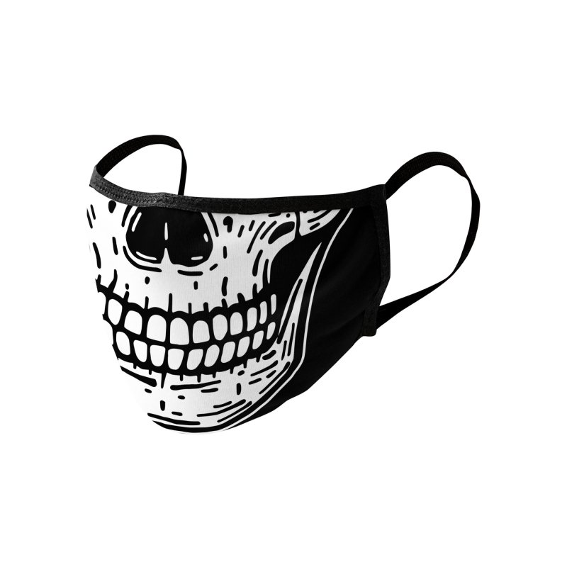 Skull Smile Accessories Face Mask by Lena_Graphic Artist Shop