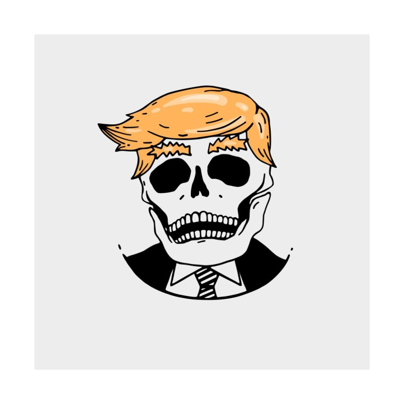 Trump Skull Men's T-Shirt by Lena_Graphic Artist Shop