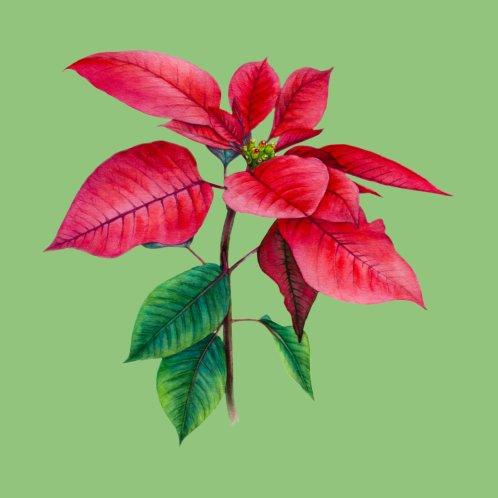 Design for Poinsettia Christmas Star