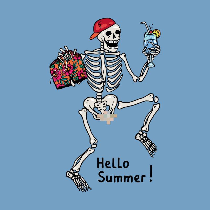 Hello Summer! Men's T-Shirt by Lena_Graphic Artist Shop