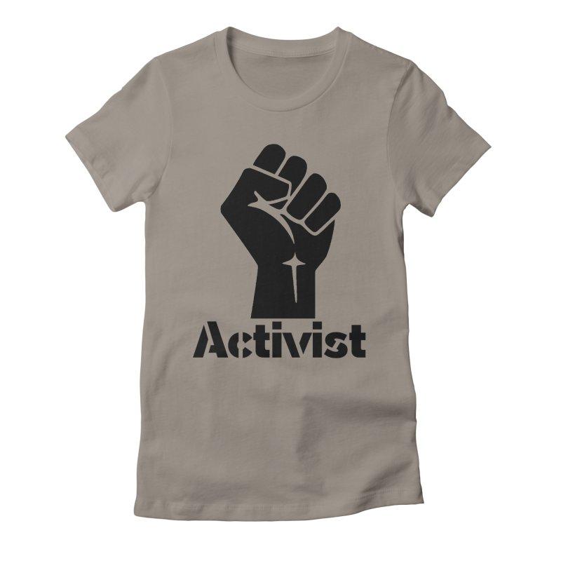 Activist Fist Women's T-Shirt by Lena Harbali