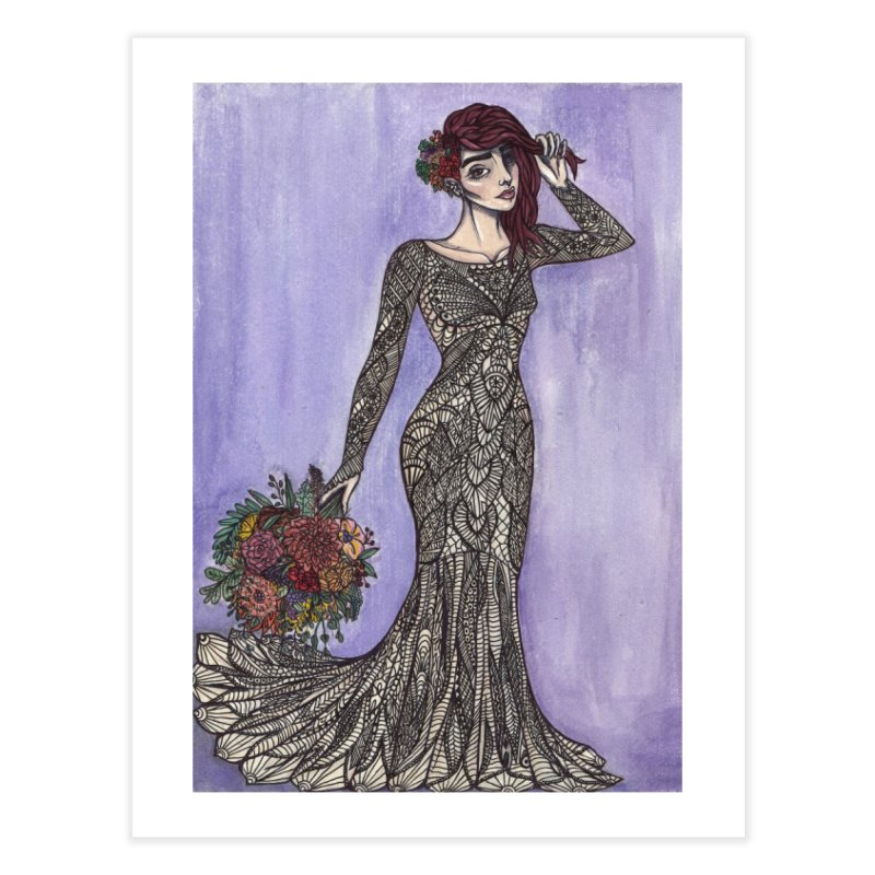 Dream Girl Home Fine Art Print by Lena Harbali