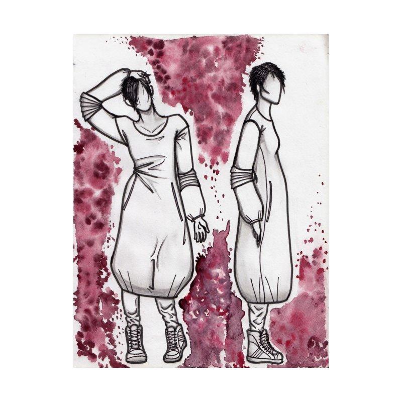 Blood Sisters Home Fine Art Print by Lena Harbali