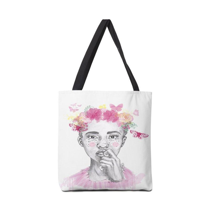 Negrita bonita in Tote Bag by Lena Ilustra's Artist Shop