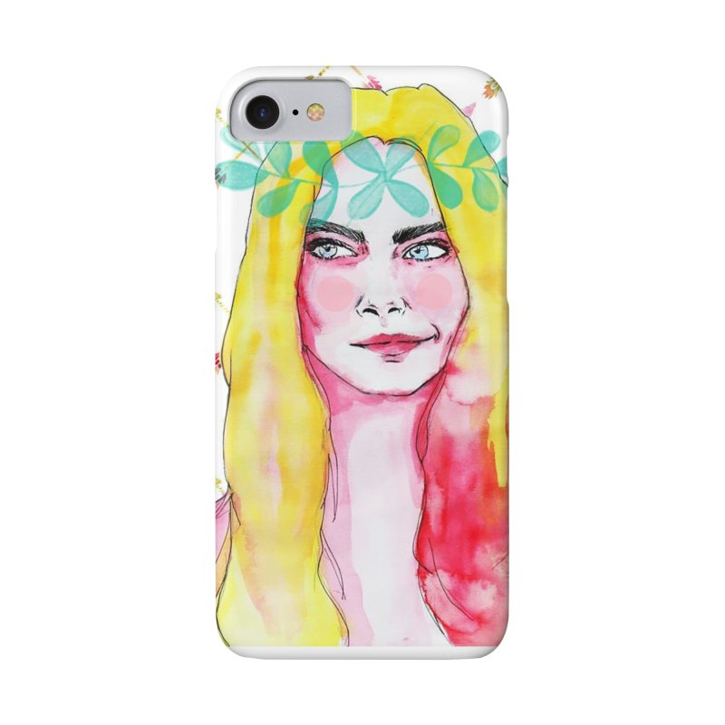 Cara in iPhone 7 Phone Case Slim by Lena Ilustra's Artist Shop