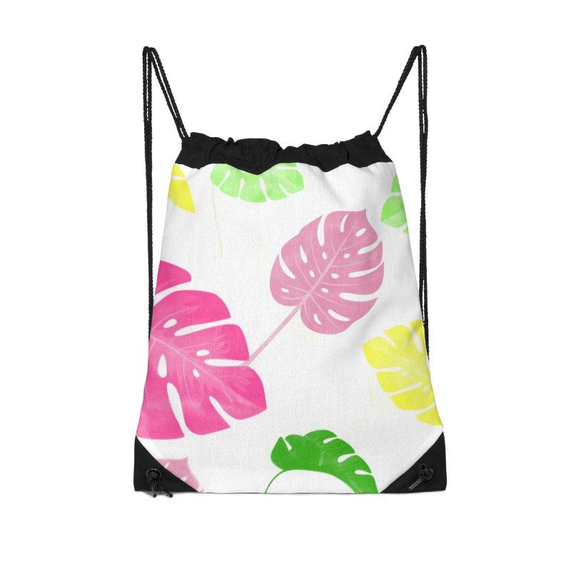 Pop Plants in Drawstring Bag by Lena Ilustra's Artist Shop