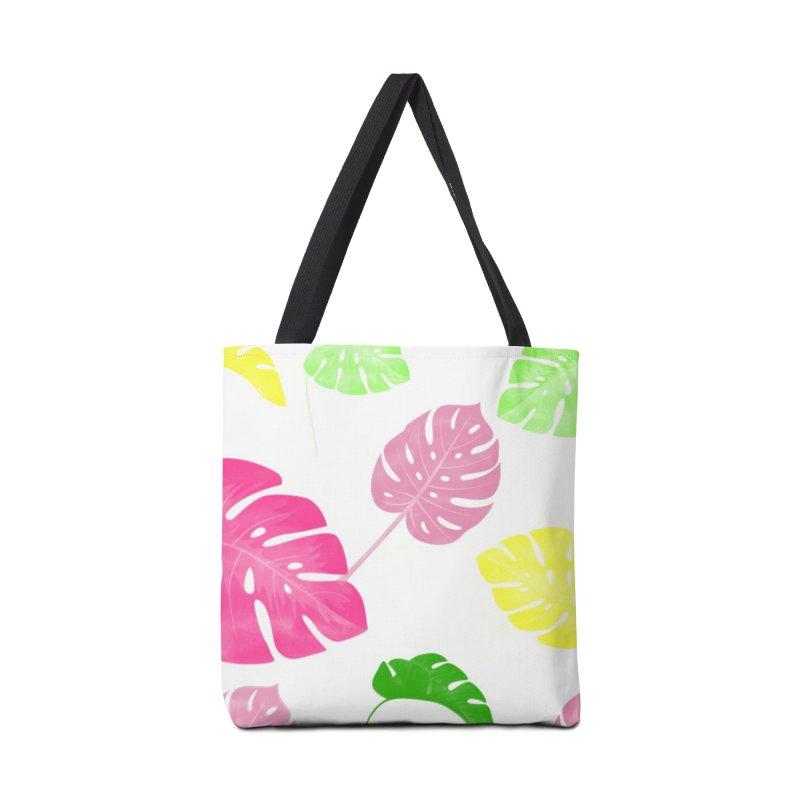 Pop Plants in Tote Bag by Lena Ilustra's Artist Shop