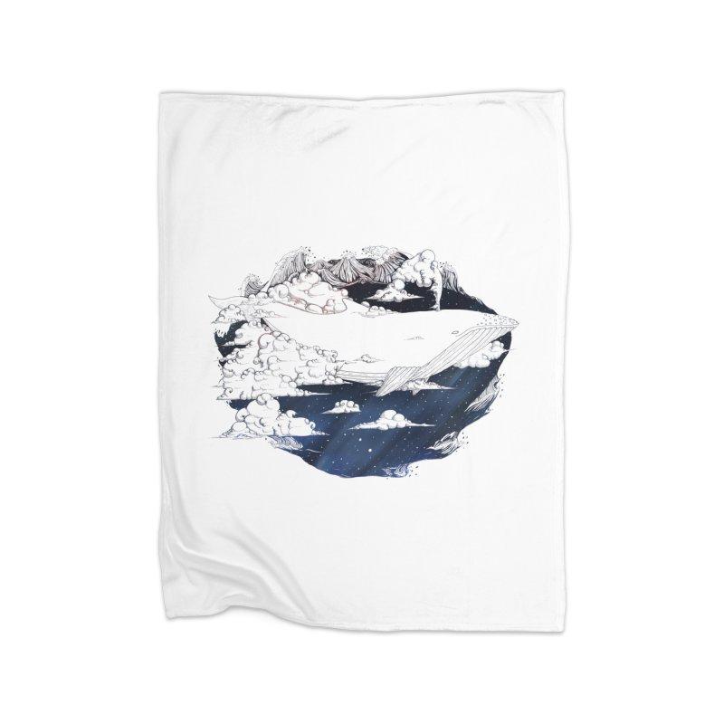Dream Big Home Blanket by Lenny B. on Threadless
