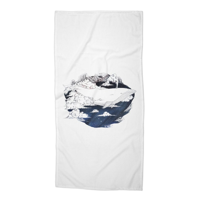 Dream Big Accessories Beach Towel by Lenny B. on Threadless