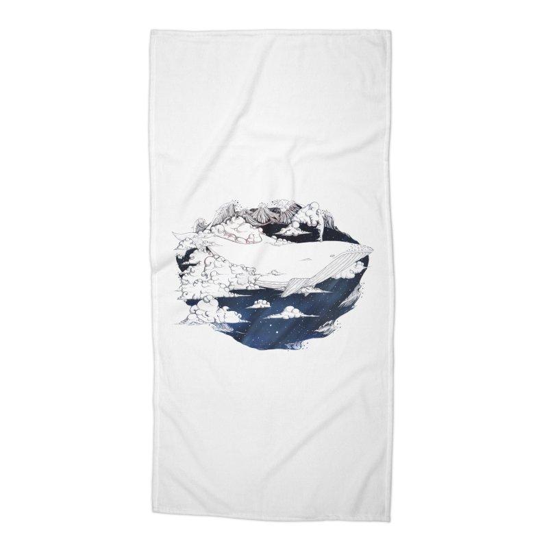 Dream Big Accessories Beach Towel by Lenny B. on Threadless