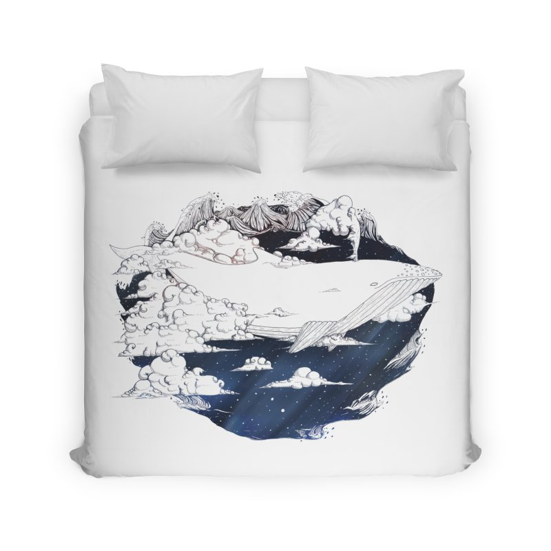 Dream Big Home Duvet by Lenny B. on Threadless