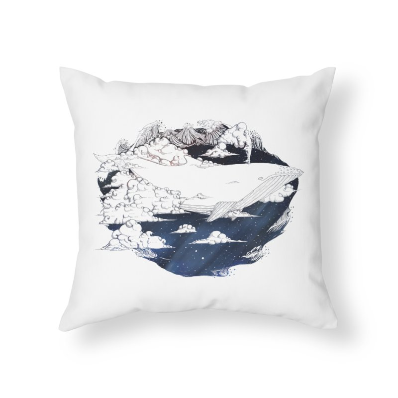 Dream Big Home Throw Pillow by Lenny B. on Threadless