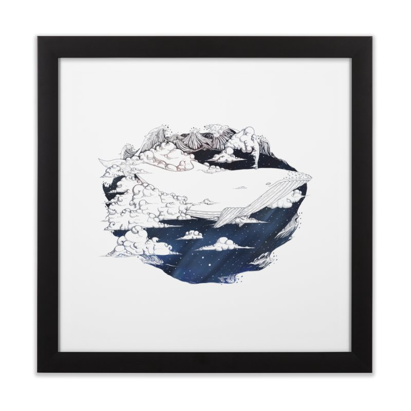 Dream Big Home Framed Fine Art Print by Lenny B. on Threadless