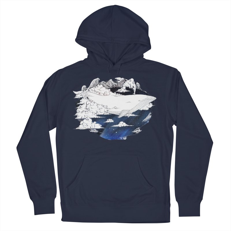 Dream Big Men's French Terry Pullover Hoody by Lenny B. on Threadless