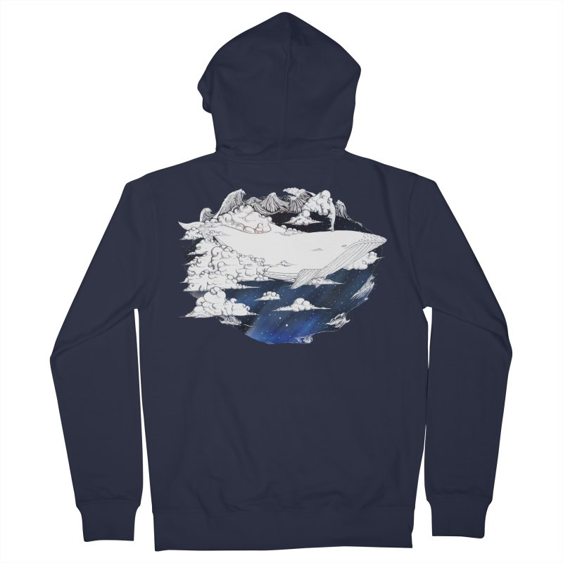 Dream Big Men's Zip-Up Hoody by Lenny B. on Threadless