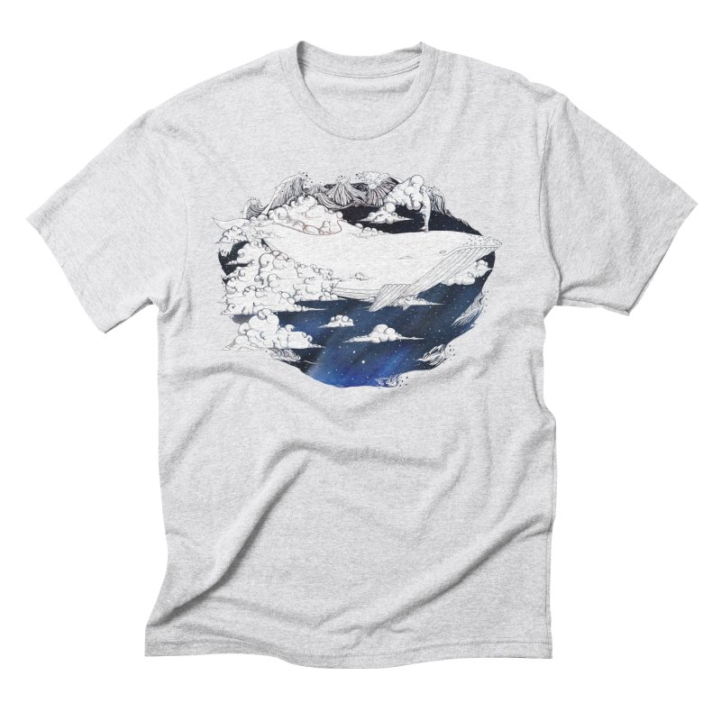 Dream Big Men's Triblend T-Shirt by Lenny B. on Threadless