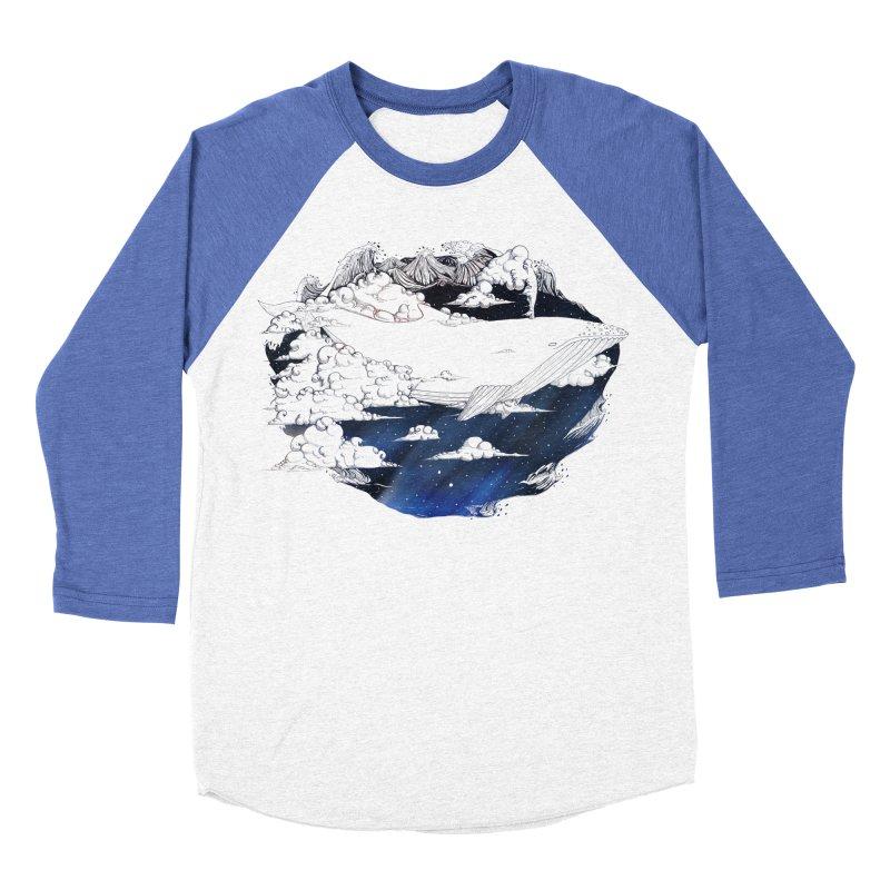 Dream Big Women's Baseball Triblend T-Shirt by Lenny B. on Threadless