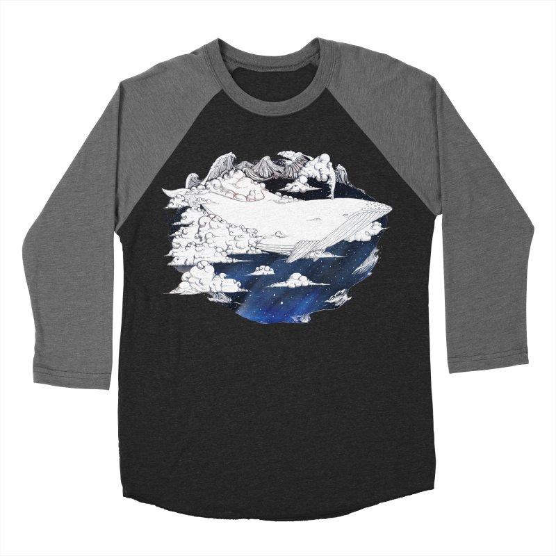 Dream Big Men's Baseball Triblend Longsleeve T-Shirt by Lenny B. on Threadless