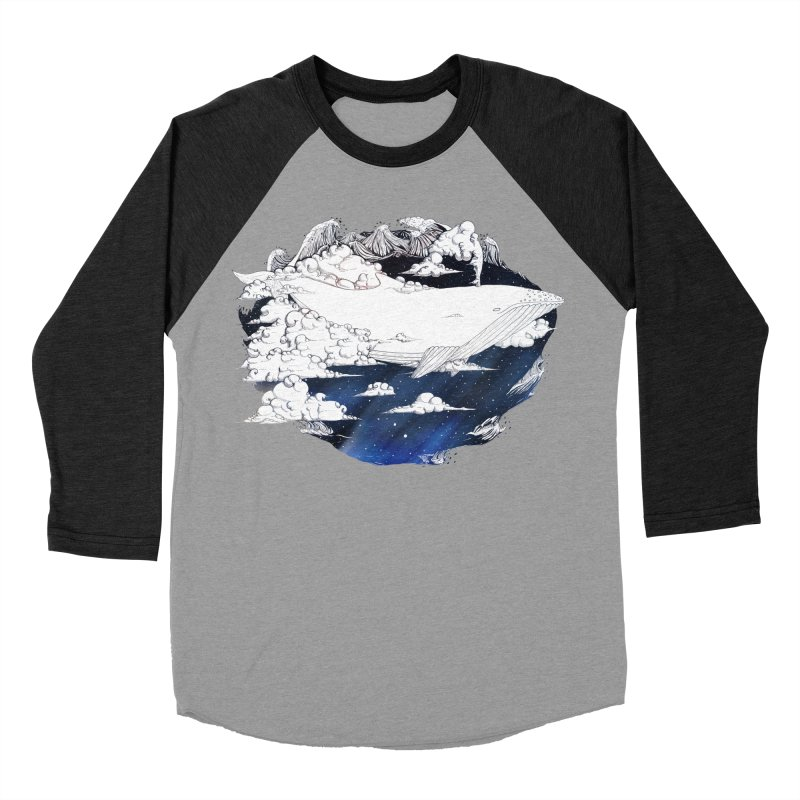 Dream Big Men's Baseball Triblend T-Shirt by Lenny B. on Threadless
