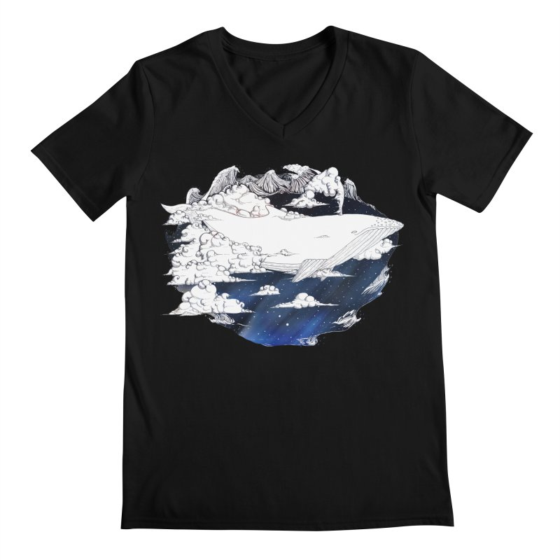 Dream Big Men's V-Neck by Lenny B. on Threadless