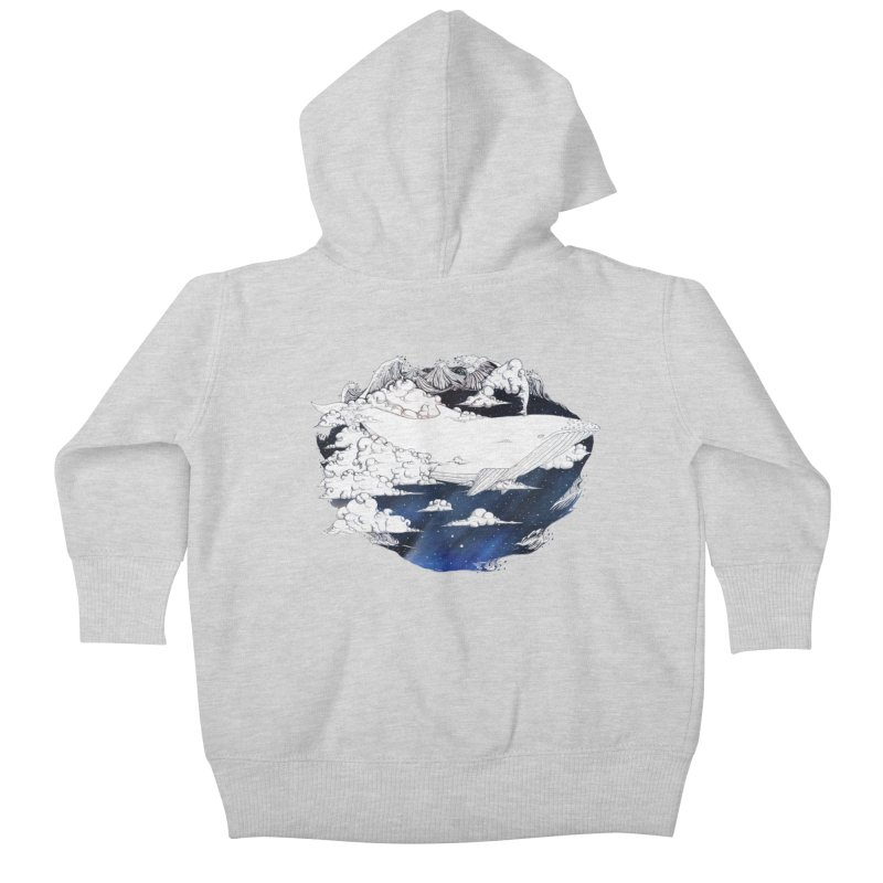 Dream Big Kids Baby Zip-Up Hoody by Lenny B. on Threadless