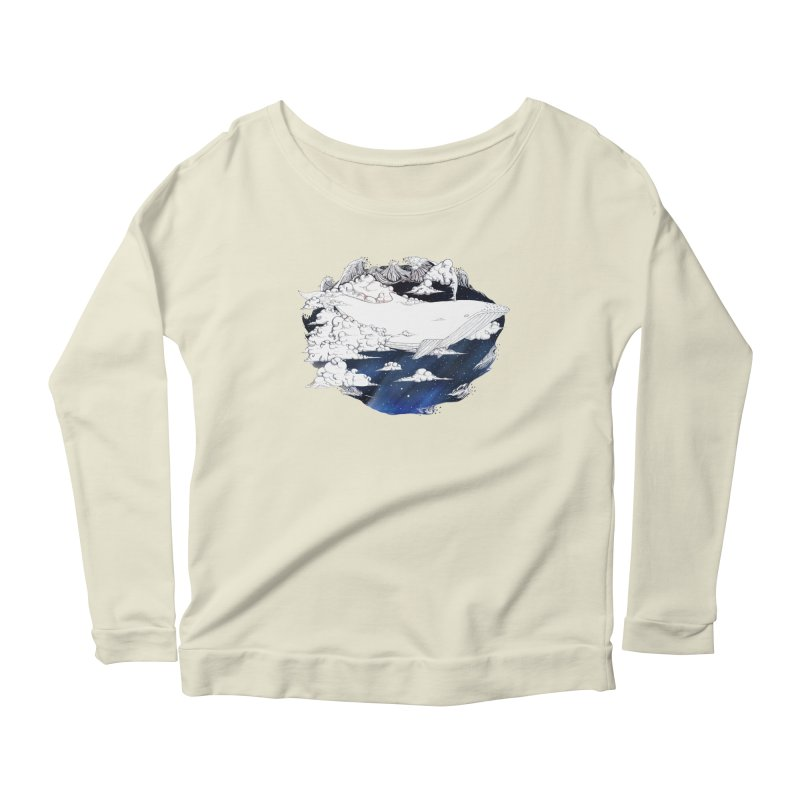 Dream Big Women's Longsleeve Scoopneck  by Lenny B. on Threadless