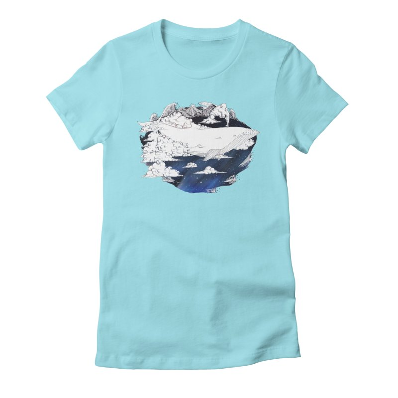 Dream Big Women's Fitted T-Shirt by Lenny B. on Threadless