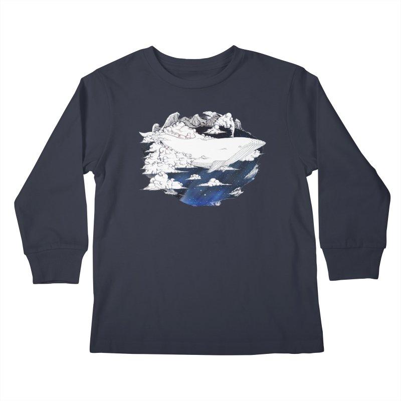 Dream Big Kids Longsleeve T-Shirt by Lenny B. on Threadless