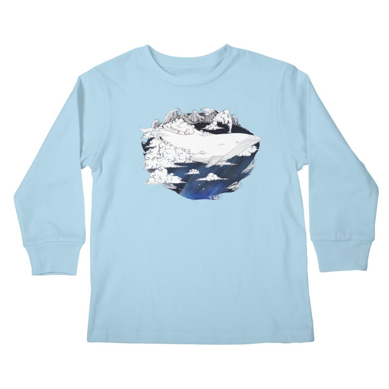 Dream Big Kids Longsleeve T-Shirt by Lenny B. on Threadless