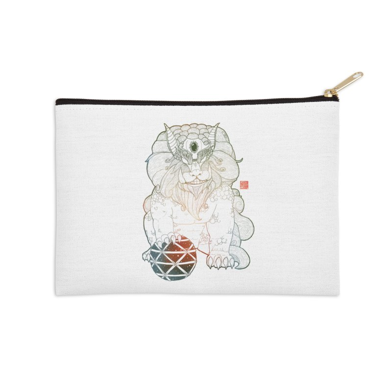 Shisa Accessories Zip Pouch by Lenny B. on Threadless