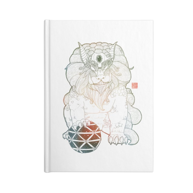 Shisa Accessories Notebook by Lenny B. on Threadless