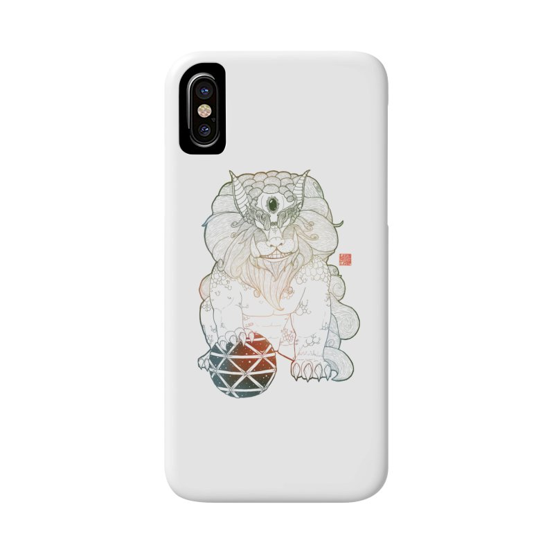 Shisa Accessories Phone Case by Lenny B. on Threadless