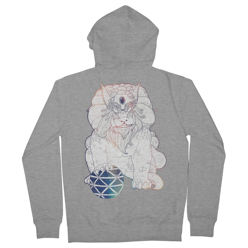 Shisa Men's Zip-Up Hoody by Lenny B. on Threadless