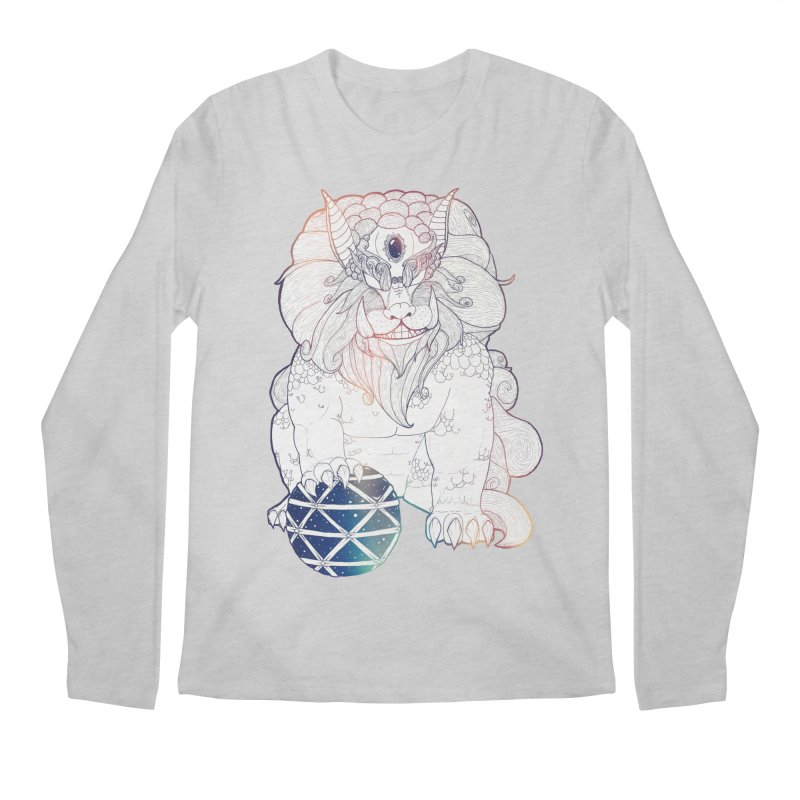 Shisa Men's Longsleeve T-Shirt by Lenny B. on Threadless