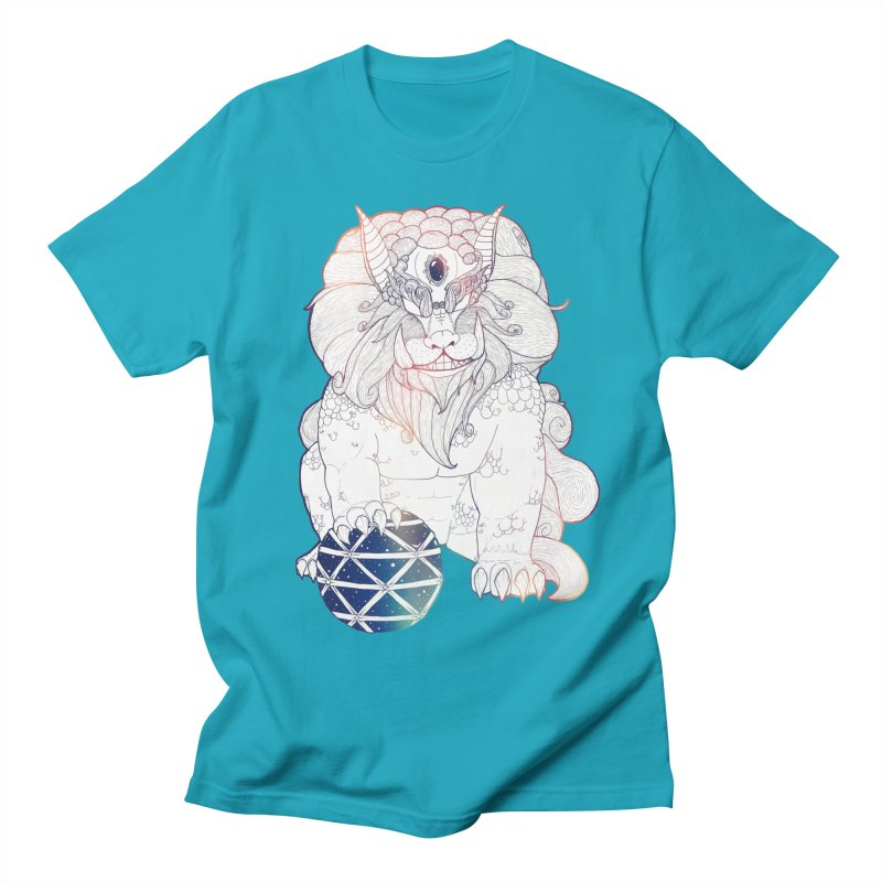 Shisa Men's T-shirt by Lenny B. on Threadless