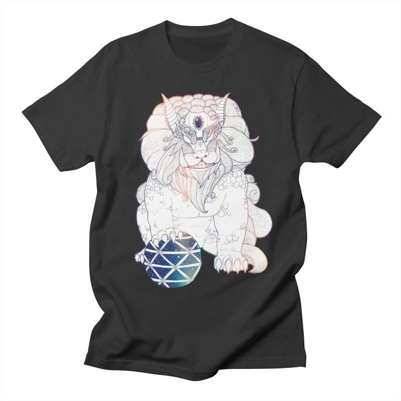 Shisa Men's Regular T-Shirt by Lenny B. on Threadless