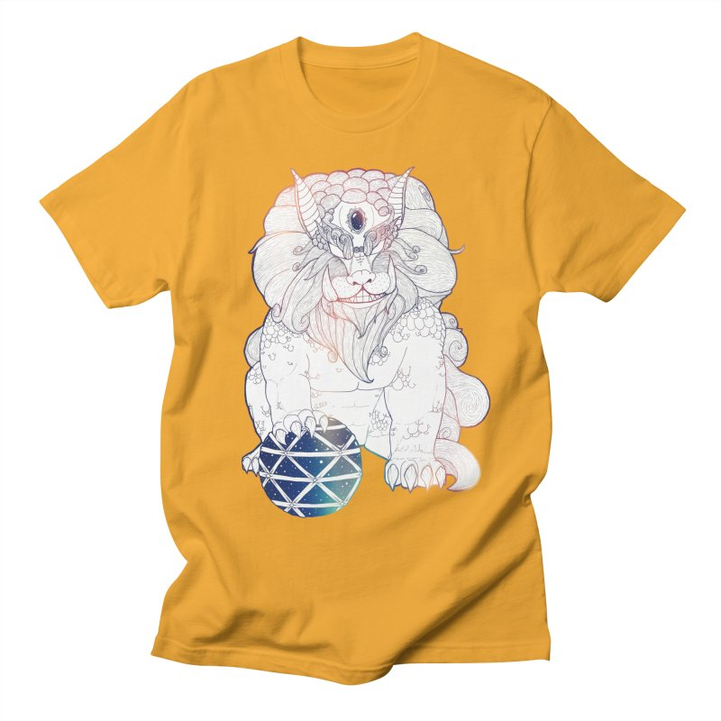 Shisa Women's Regular Unisex T-Shirt by Lenny B. on Threadless