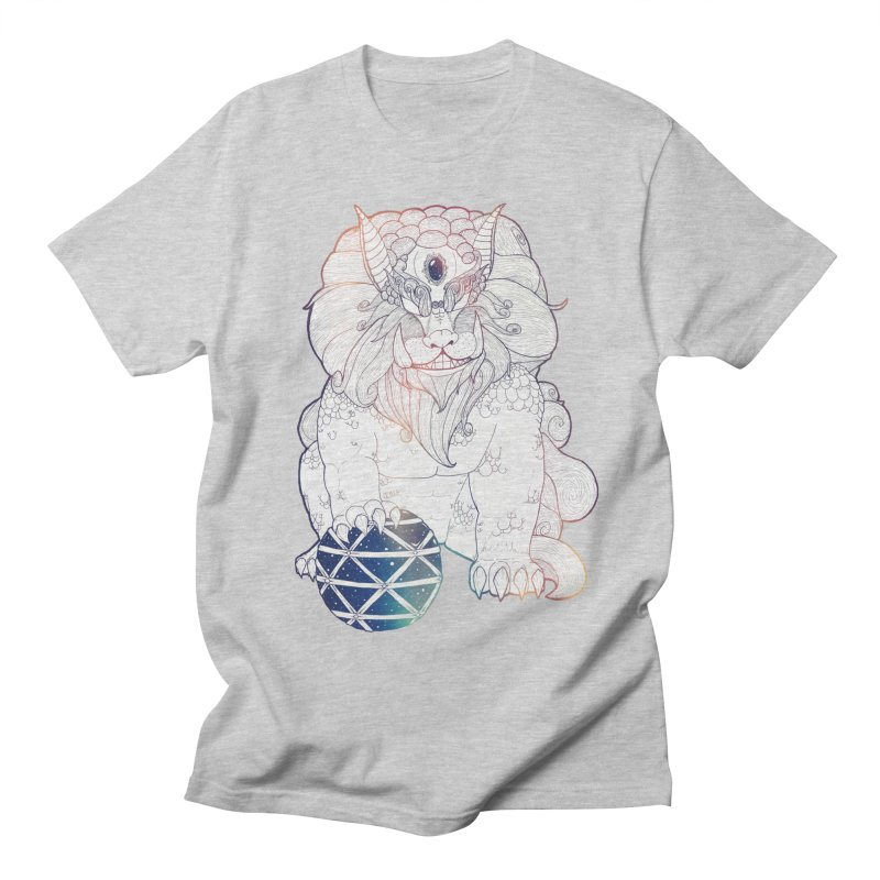 Shisa Men's T-Shirt by Lenny B. on Threadless