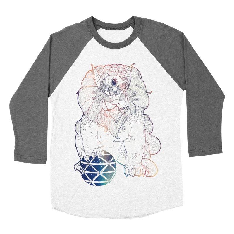 Shisa Women's Baseball Triblend T-Shirt by Lenny B. on Threadless
