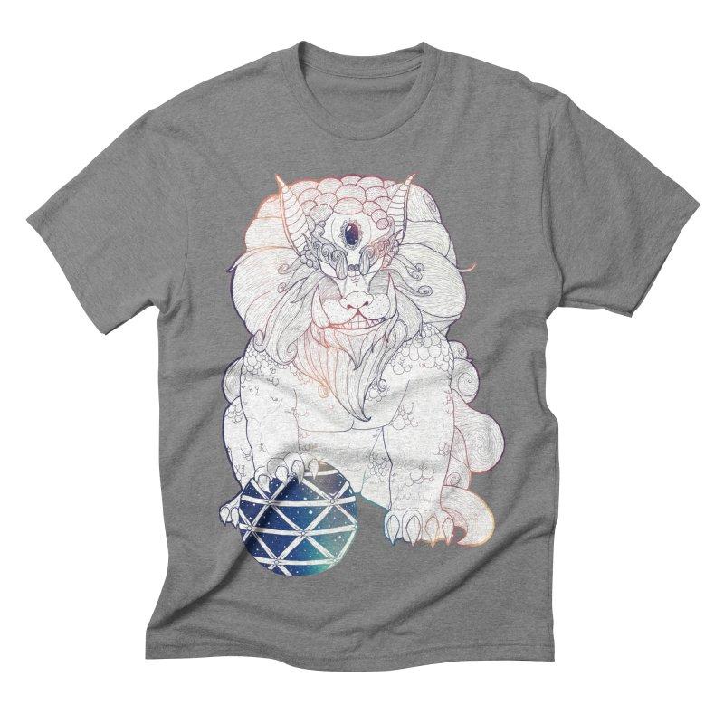 Shisa Men's Triblend T-shirt by Lenny B. on Threadless